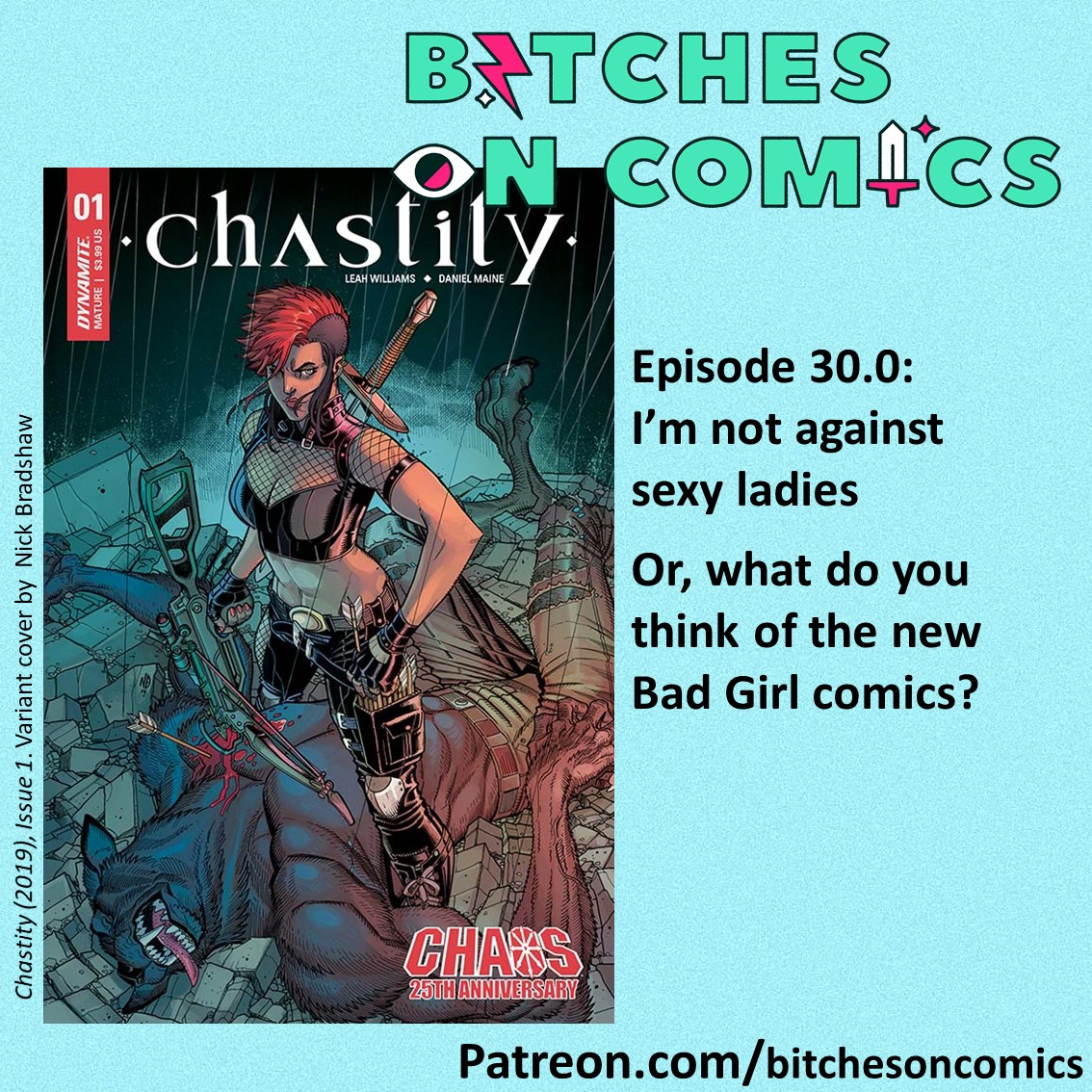 Bitches on Comics cover Episode 30