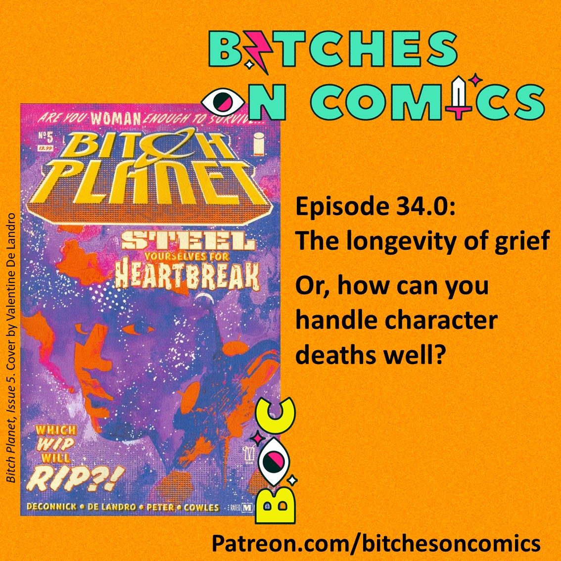 Bitches on Comics Bitch Planet
